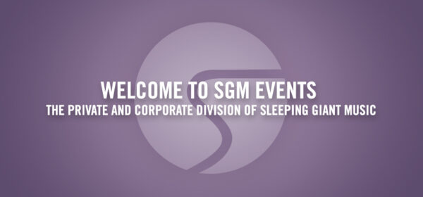 Welcome to SGM Events