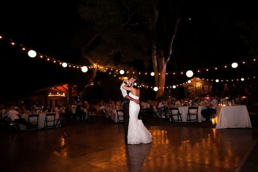 Couple dancing the night away to an event planned by Events Inspired San Diego.