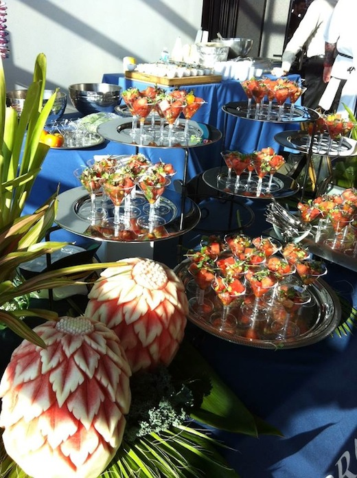 Food at the Hornblower Cruises & Events.