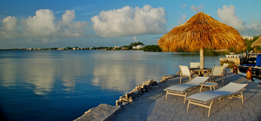 Peaceful marina view at the Kona Kai Resort & Marina