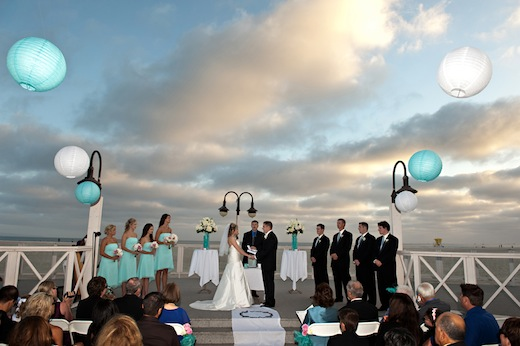Swann Soirees designed this beautiful beach wedding in San Diego, CA.