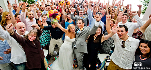 Some of the best songs to get the party started at your wedding or corporate event.