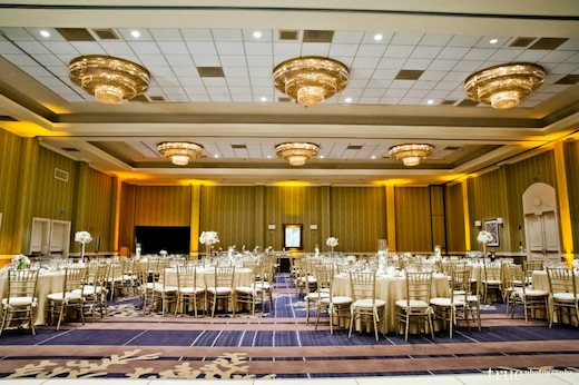 The International ballroom at the Hilton San Diego Resort & Spa.