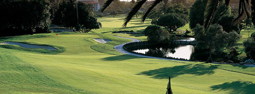 View of the golf course at El Camino Country Club