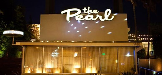 Front view of The Pearl Hotel