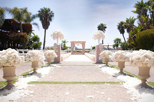 Paradise Point wedding ceremony location