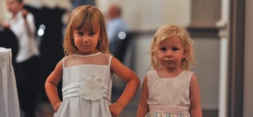 Children participating in wedding