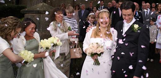 Wedding exit tips