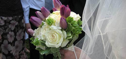 Wedding receiving line