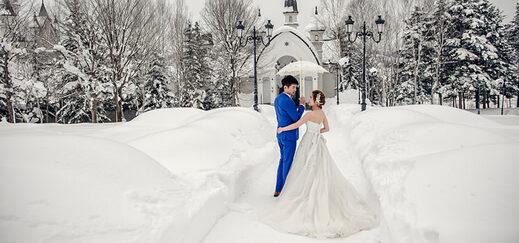 Winter wedding myths