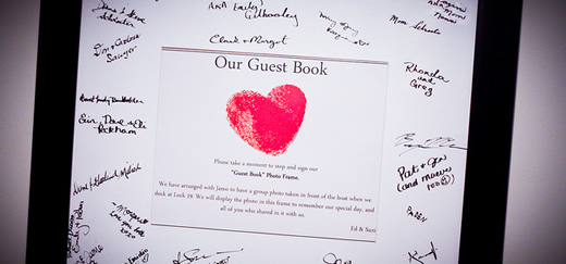 Guest book alternatives