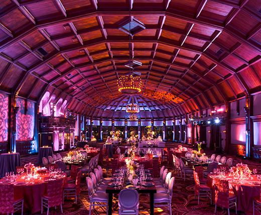 Hotel Del Coronado Wedding Reception in Crown Room