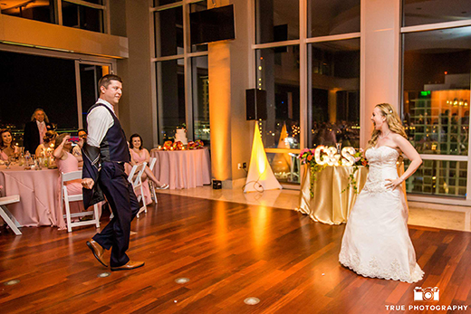 Bride & Groom Dancing at Reception