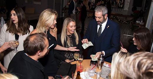 Magician Performing at Private Event