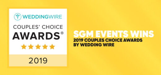 SGM Events Wins 2019 Couples Choice Awards by Wedding Wire