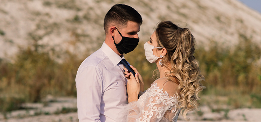 three ways to have a pandemic friendly wedding